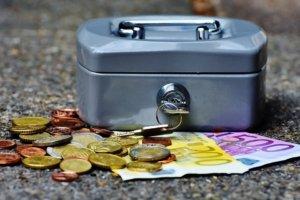 klassische Geldkassette