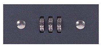 Sax 0-810-19 Geldkassette, B 20 x H 9 x T 16 cm, schwarz - 7